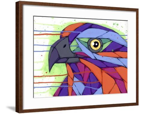 Casting Sharp Looks-Ric Stultz-Framed Art Print