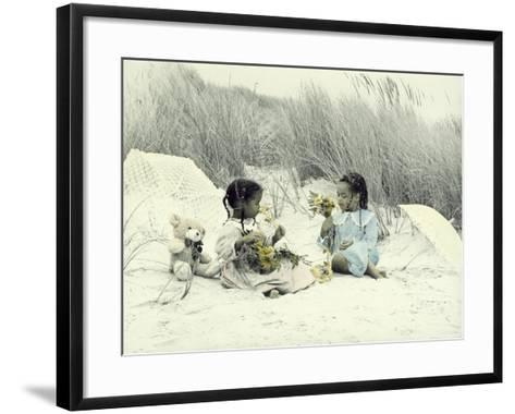 A Day at the Beach 2-Nora Hernandez-Framed Art Print