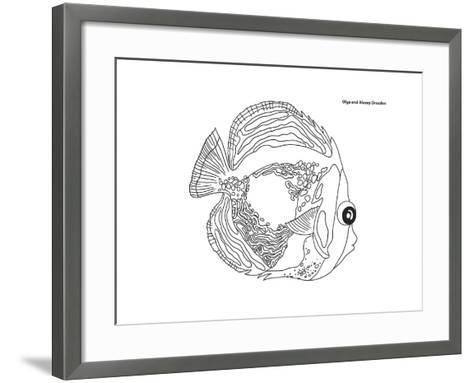Coral Fish 14-Olga And Alexey Drozdov-Framed Art Print