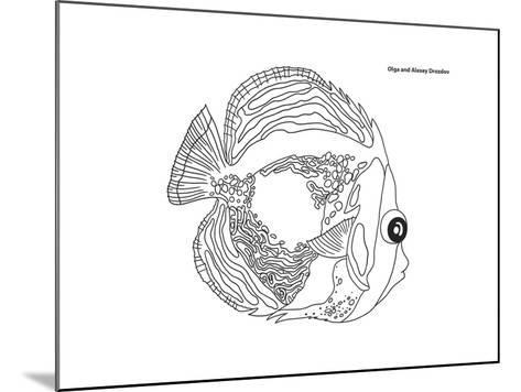 Coral Fish 14-Olga And Alexey Drozdov-Mounted Giclee Print