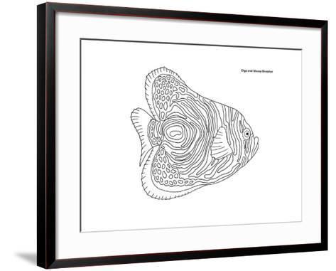 Coral Fish 13-Olga And Alexey Drozdov-Framed Art Print