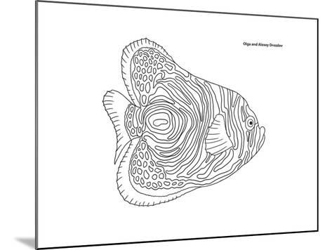 Coral Fish 13-Olga And Alexey Drozdov-Mounted Giclee Print