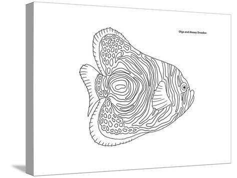 Coral Fish 13-Olga And Alexey Drozdov-Stretched Canvas Print
