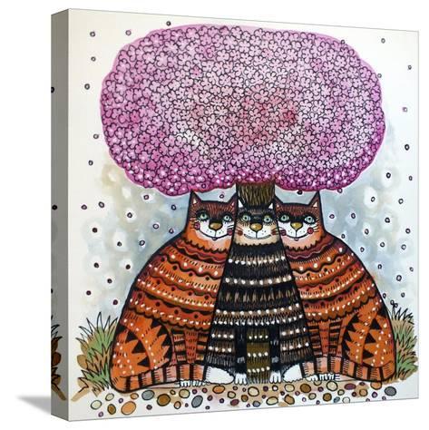 A Cherry Blossom Season-Oxana Zaika-Stretched Canvas Print