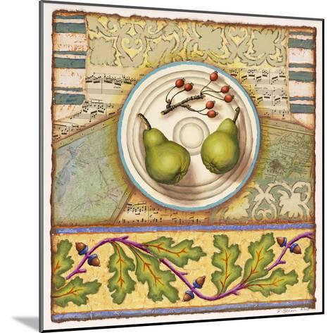 Menemsha Pears-Rachel Paxton-Mounted Giclee Print