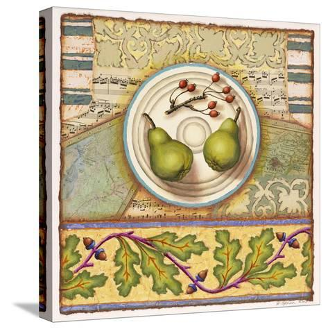 Menemsha Pears-Rachel Paxton-Stretched Canvas Print