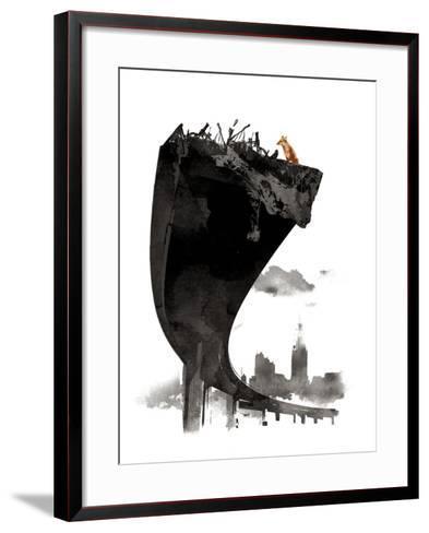 The Last of Us-Robert Farkas-Framed Art Print