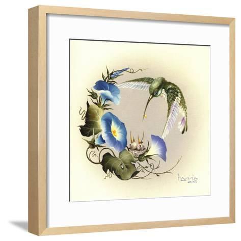 Small Small World-Peggy Harris-Framed Art Print