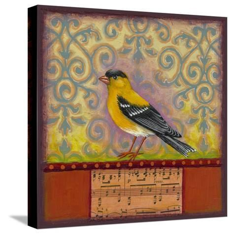 Goldfinch-Rachel Paxton-Stretched Canvas Print
