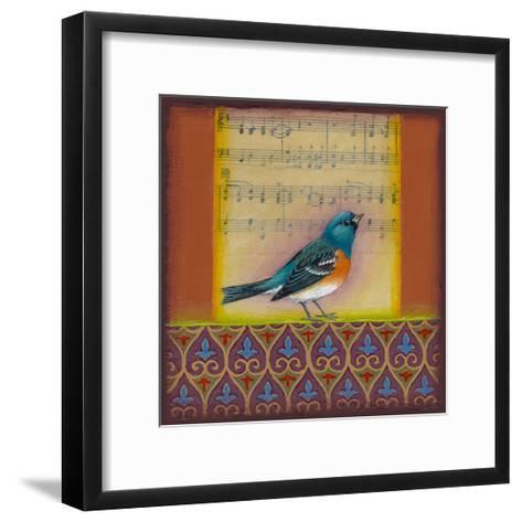 Indigo Bunting-Rachel Paxton-Framed Art Print