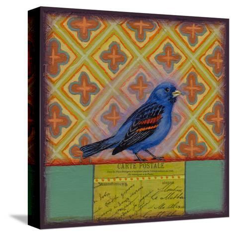 Grosbeak-Rachel Paxton-Stretched Canvas Print