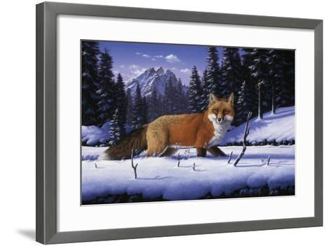 Red, White and Blue-R.W. Hedge-Framed Art Print