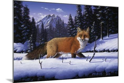 Red, White and Blue-R.W. Hedge-Mounted Giclee Print