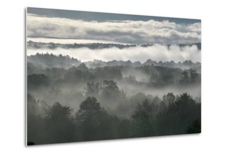 Grey Shawangunk Sunrise 3-Robert Goldwitz-Metal Print