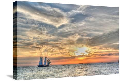 Liberty Clipper-Robert Goldwitz-Stretched Canvas Print