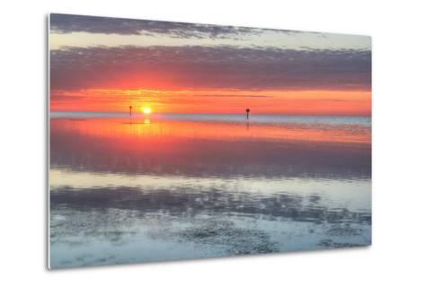 Key West Sunrise III-Robert Goldwitz-Metal Print