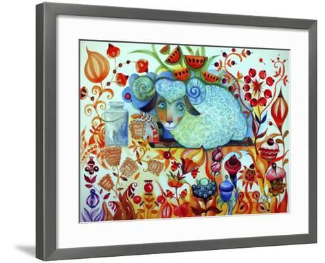 Candy Sheep-Oxana Zaika-Framed Art Print