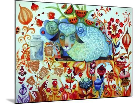 Candy Sheep-Oxana Zaika-Mounted Giclee Print