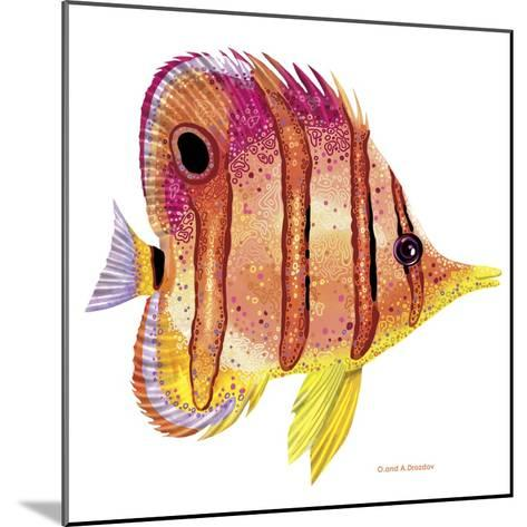 New Fish 4-Olga And Alexey Drozdov-Mounted Giclee Print