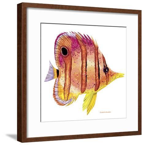 New Fish 4-Olga And Alexey Drozdov-Framed Art Print