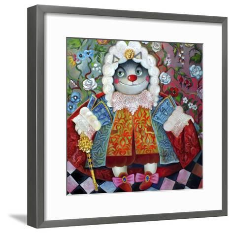King-Oxana Zaika-Framed Art Print