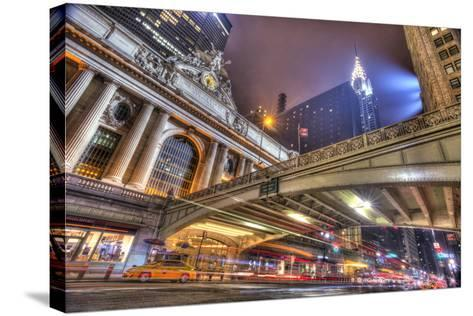 Grand Central-Moises Levy-Stretched Canvas Print