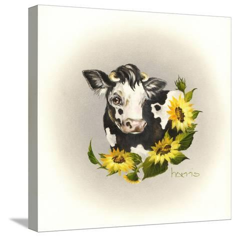 Cowl Ender Girl-Peggy Harris-Stretched Canvas Print