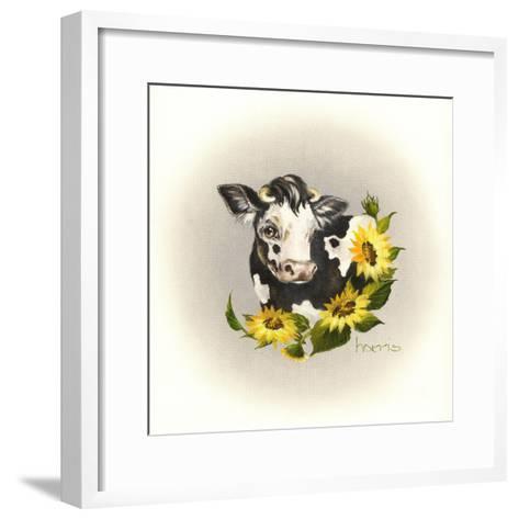 Cowl Ender Girl-Peggy Harris-Framed Art Print