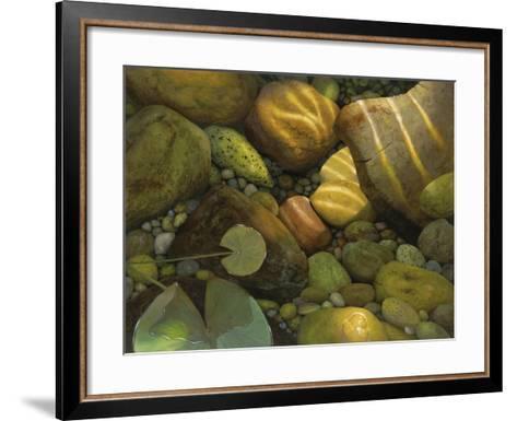 The Garden Pond-Stephen Stavast-Framed Art Print