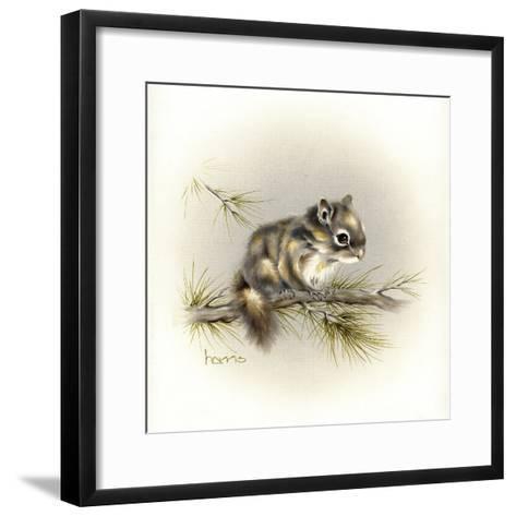 Tattle-Tail Baby-Peggy Harris-Framed Art Print