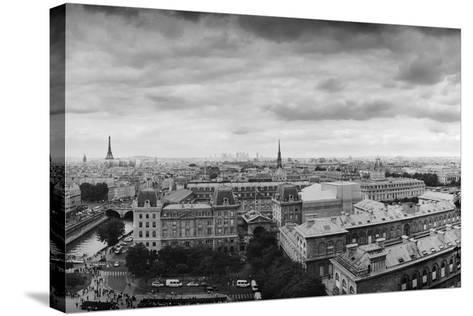 Boring in Paris-Moises Levy-Stretched Canvas Print