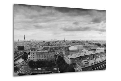 Boring in Paris-Moises Levy-Metal Print