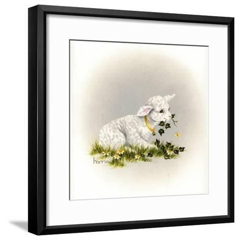 Little Lambsy Divey-Peggy Harris-Framed Art Print