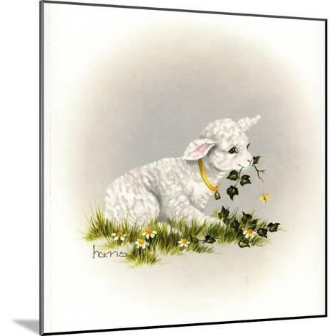 Little Lambsy Divey-Peggy Harris-Mounted Giclee Print