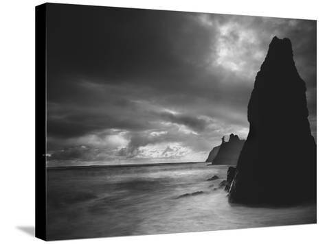 Ruby Beach 2-Moises Levy-Stretched Canvas Print
