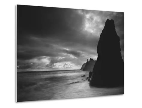 Ruby Beach 2-Moises Levy-Metal Print