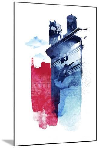 This Is My Town-Robert Farkas-Mounted Giclee Print