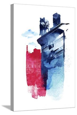 This Is My Town-Robert Farkas-Stretched Canvas Print