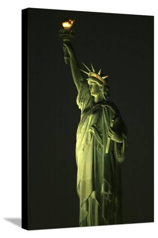 Liberty Vertical-Robert Goldwitz-Stretched Canvas Print