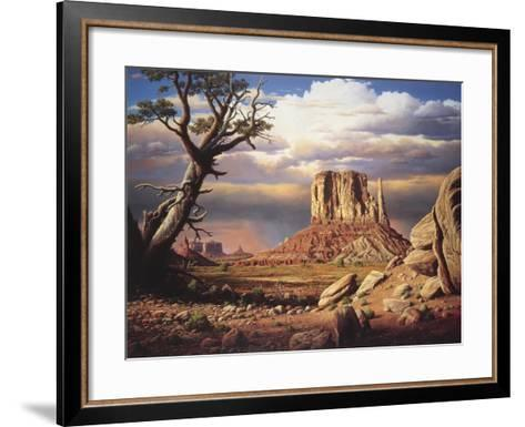 Home to the Sun-R.W. Hedge-Framed Art Print