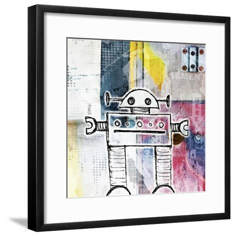 Small Bot-Roseanne Jones-Framed Art Print