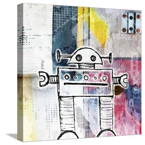 Small Bot-Roseanne Jones-Stretched Canvas Print