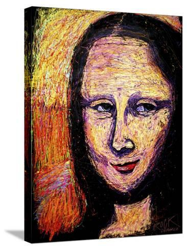 Mona 002-Rock Demarco-Stretched Canvas Print