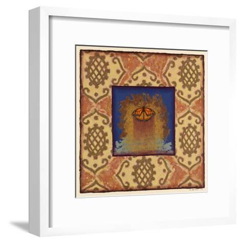 Myrtle St. Monarch-Rachel Paxton-Framed Art Print