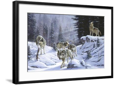 Final Call-R.W. Hedge-Framed Art Print