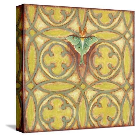 Greenwood Lunar Moth-Rachel Paxton-Stretched Canvas Print