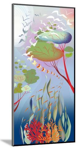 Forest Migration-Sergio Baradat-Mounted Giclee Print