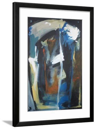 Cultural Project Improv 2-Tim Nyberg-Framed Art Print
