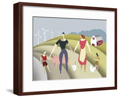 D 4 Iyff Farm-Sergio Baradat-Framed Art Print