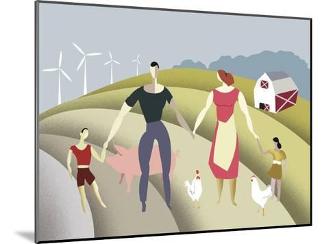 D 4 Iyff Farm-Sergio Baradat-Mounted Giclee Print